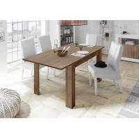 Stół rozkładany RUBIN ciemny orzech 137-185/90/79 cm