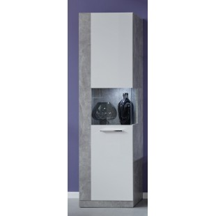 Witryna wąska ROKET korpus optyka betonu 52/186/34 cm