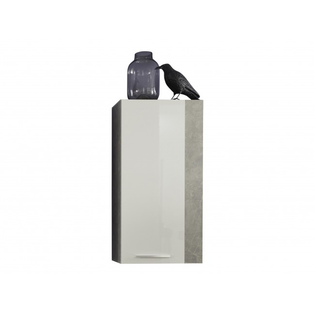 Szafka wisząca ROKET korpus optyka betonu 52/103/31 cm