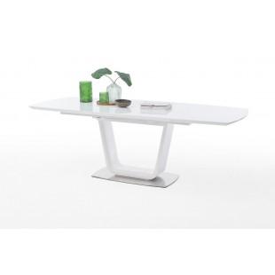 Stół rozkładany KASANDRA 180-230/95 cm blat biały