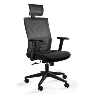 Fotel biurowy ergonimiczny MASK  czarny