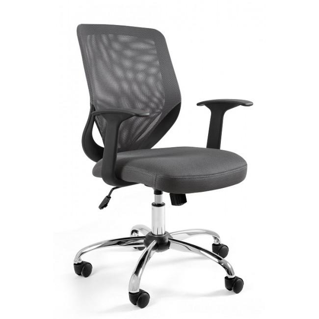 Fotel biurowy UM MOBI szary