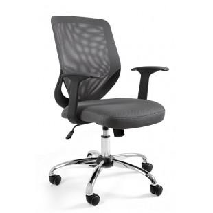 Fotel biurowy UM MIKROBI szary