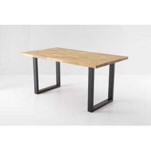 Stół NICOL  dąb lity olejowany 160 lub 180 cm