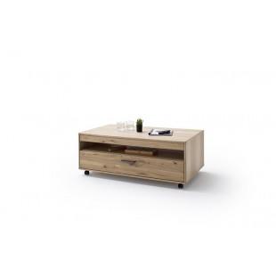 Stolik kawowy LAND drewno dębowe olejowane 115/65/45 cm