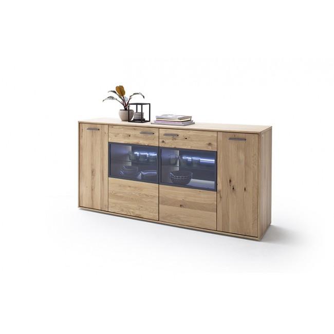 Komoda LAND drewno dębowe olejowane 184/44/90 cm