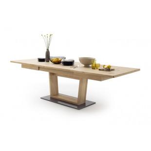 Stół rozsuwany LAND drewno dębowe olejowane 180-280/100/77 cm