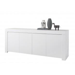 Komoda szeroka FRIEND lakier biały mat 210/42/81 cm