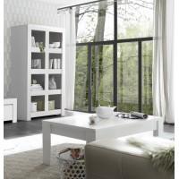 Stolik kawowy FRIEND lakier biały mat 122/65/45 cm