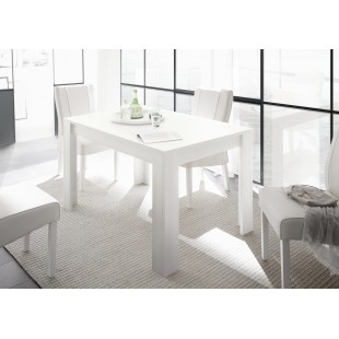 Stół rozkładany FRIEND lakier biały mat 137-185/90/75 cm