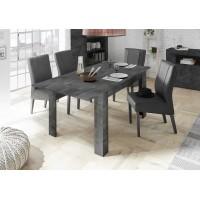 Stół rozkładany RUBIN oxyde 137-185/90/79 cm