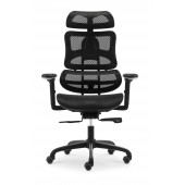 Fotel biurowy  ergonomiczy TECHNIC czarny