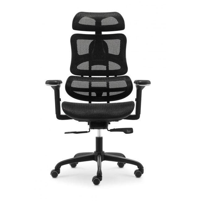 Fotel biurowy  ergonomiczy TECHNIC szary