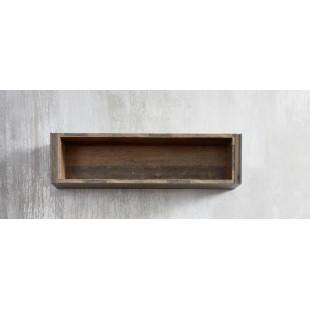 Półka ścienna PRIMERA folia drewno postarzane 113/29/23 cm