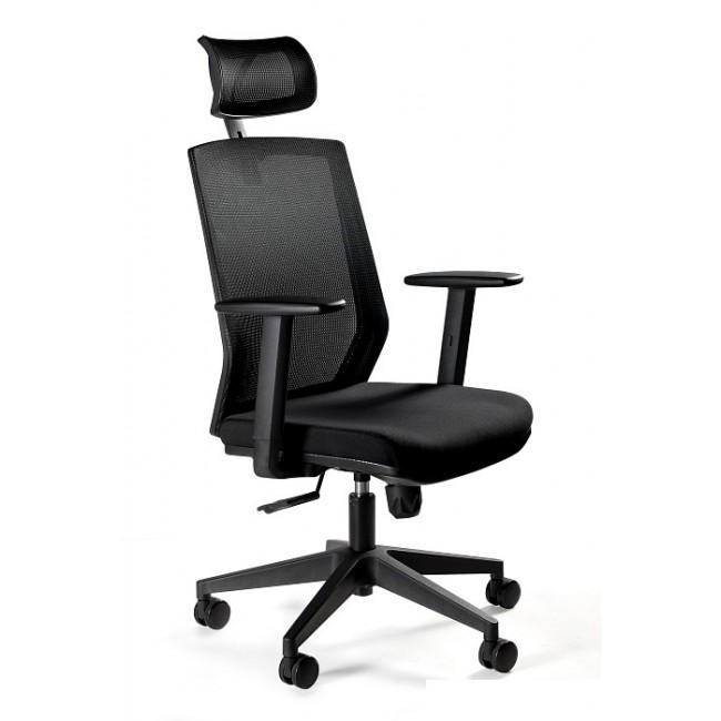 Fotel biurowy  nowoczesny FIESTA czarny