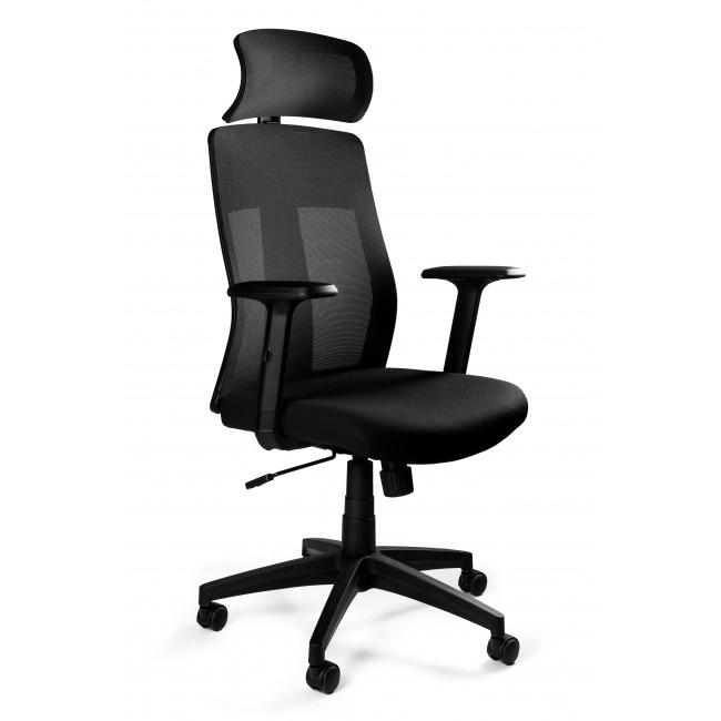 Fotel biurowy nowoczesny EXPO czarny