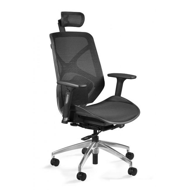 Fotel biurowy ERGO czarny siatka