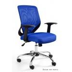 Fotel biurowy MOBILL  tkanina/siatka 8 kolorów