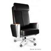 Fotel biurowy REGATA skóra naturalna