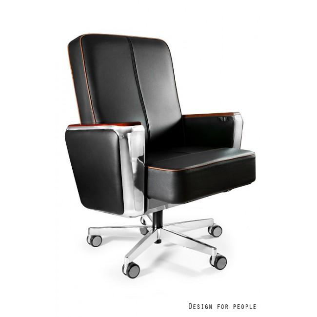 Fotel biurowy REGATA LOW skóra naturalna