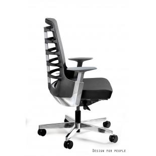 Fotel biurowy NELLY M czarny tkanina lub skóra