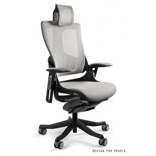 Fotel biurowy WAWA 2 siatka jasno szara