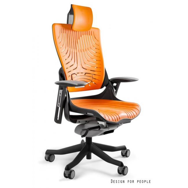 Fotel biurowy WAWA 2 elastomer pomarańczowy