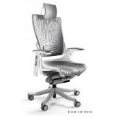 Fotel biurowy WAWA 2 elastomer szary