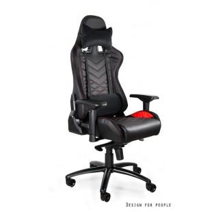 Fotel gamingowy DYNAMIT  V3 czarno/czerwony