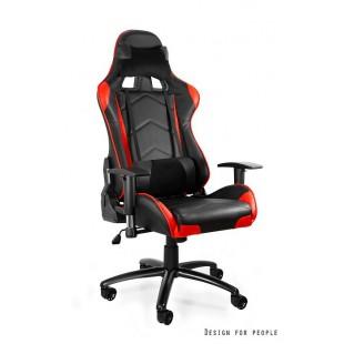 Fotel gamingowy DYNAMIT  V5 czarno/czerwony