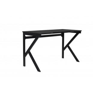 DYNAMIT V2 biurko gamingowe czarne 120/60/72,5 cm