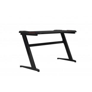 DYNAMIT V4 biurko gamingowe  czarne 122/60/75  cm