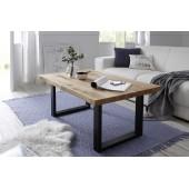 ANNA  stolik kawowy drewno dębowe 110/45/70 cm