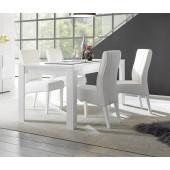 SINIORA włoski stół biały lakier 180/90/79 cm