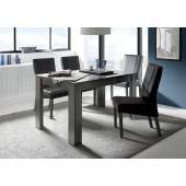 SINIORA włoski stół lakier antracyt 180/90/79 cm