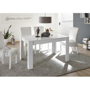 MIRON stół lakier biały połysk  180 / 90 / 79  cm