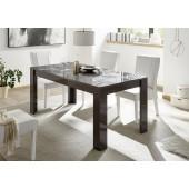 MIRON stół lakier antracyt połysk  180 / 90 / 79  cm