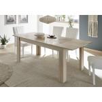 MIRON stół z wkładem dąb sonoma  137-185 / 90 / 79  cm