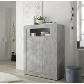 Komoda wysoka RUBIN beton lub oxyde 110/144/42 cm