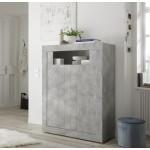 Komoda wysoka RUBIN beton 110/144/42 cm