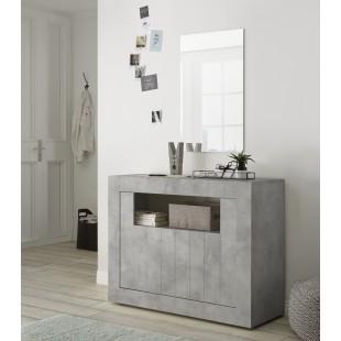Komoda niska RUBIN beton lub oxyde 110/86/42 cm