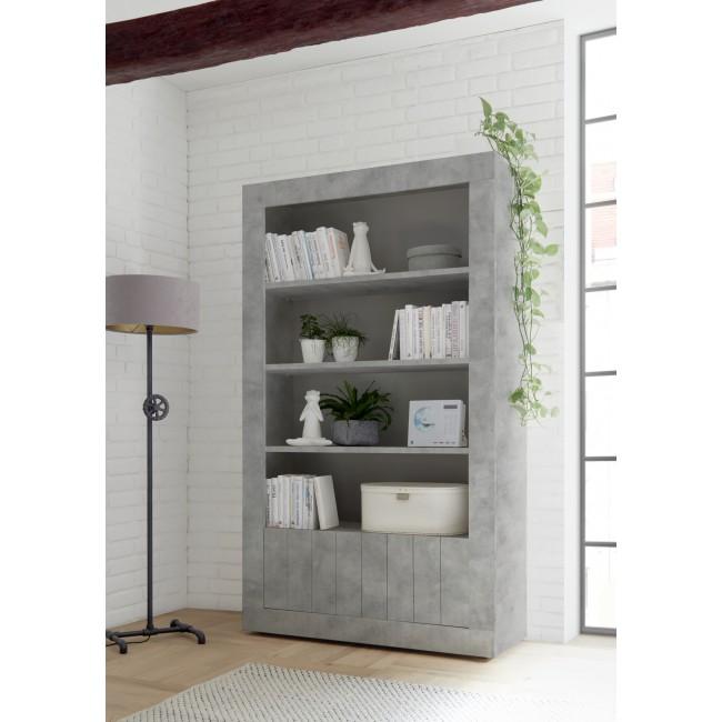 Regał RUBIN beton lub oxyde110/191/42 cm