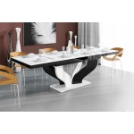 VIVAT stół rozkł. różne kolory 160-208-256/89/75 cm
