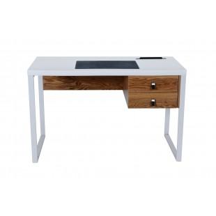 DOLLY biurko białe 120/76/60 cm