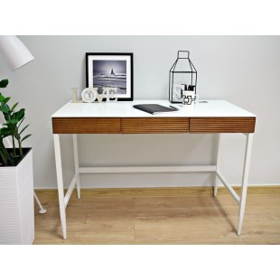 DORRA biurko białe 110/76/55 cm