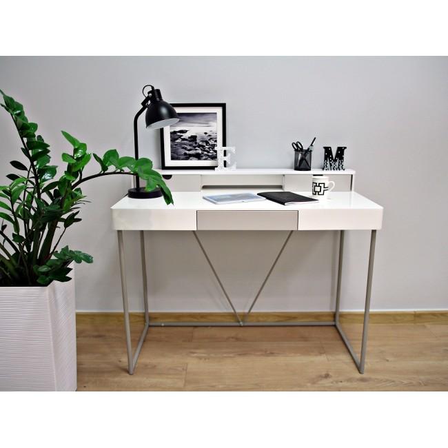 GRISS biurko białe  110/86/50cm