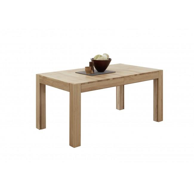 JAKUB stół rozkładany dąb lity olejowany 160-280/90/75 cm