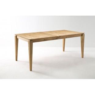 WITEK stół drewniany rozkładany dąb olejowany 140-180/90/76 cm