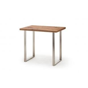 KASZTEL stolik barowy dębowy  120/80/107 cm