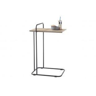 ESTETA stolik w okleinie dębowej 48/35/72 cm